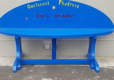 Gaelscoil Phadraig bench