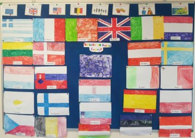 Gaelscoil Phadraig flags